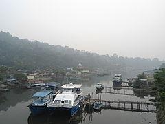 Kabut asap di Pelabuhan Muaro.JPG