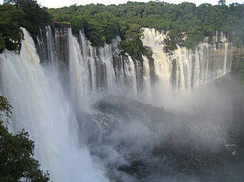 Kalandula waterfalls of the Lucala-River in Malange, Angola.JPG
