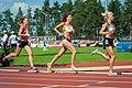 Kalevan Kisat 2018 - Women's 5000 m - Janica Rauma, Kristiina Mäki, Alisa Vainio.jpg