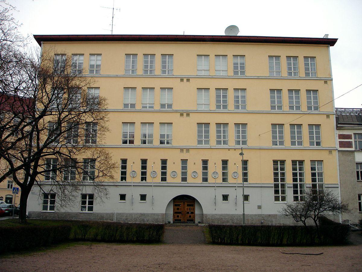 Kallio Upper Secondary School Wikidata