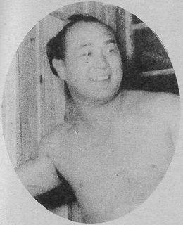 Kamikaze Shoichi Sumo wrestler