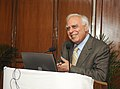 Kapil Sibal addressing at the launch of the Speed Post service for summons Notices of High Court of Delhi, in New Delhi on February 03, 2014.jpg