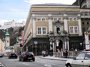 Großes Festspielhaus - The front from Herbert von Karajan-square