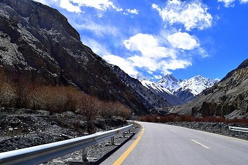 Karakoram highway, Hunza Valley
