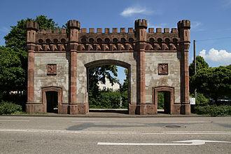 Rastatt Fortress - Karlsruhe Gate