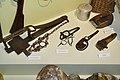 Karmsund folkemuseum (Regional Museum) Haugesund Norway 2020-06-10 Jakt (hunting) Fotsaks (traps) til små og store dyr Rottefelle Bærplukker 00494.jpg