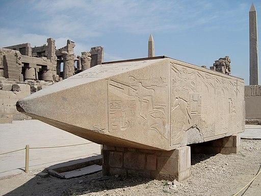 Karnak Tempel Obelisk 04