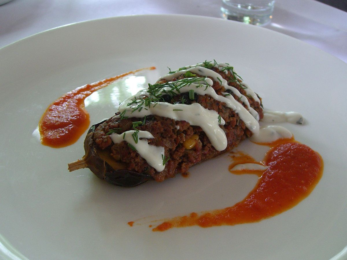 Karn yar k wikipedia for Aubergine cuisine