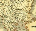 Karte aus dem Buch Römische Provinzen von Theodor Mommsen 1921 16g.jpg