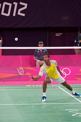 Sri Lanka at the 2012 Summer Olympics - Niluka Karunaratne reached the elimination stage of the men's badminton singles before elimination.