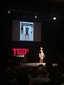 Karyn Marshall giving a TED talk in New Jersey in 2015.jpg