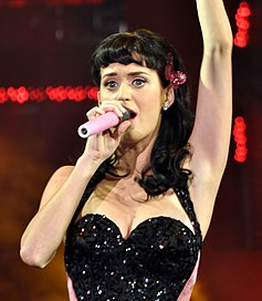 Katy Perry in concerto nel 2008