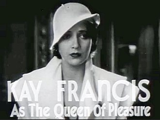 Kay Francis - Kay Francis in trailer for The House on 56th Street (1933)