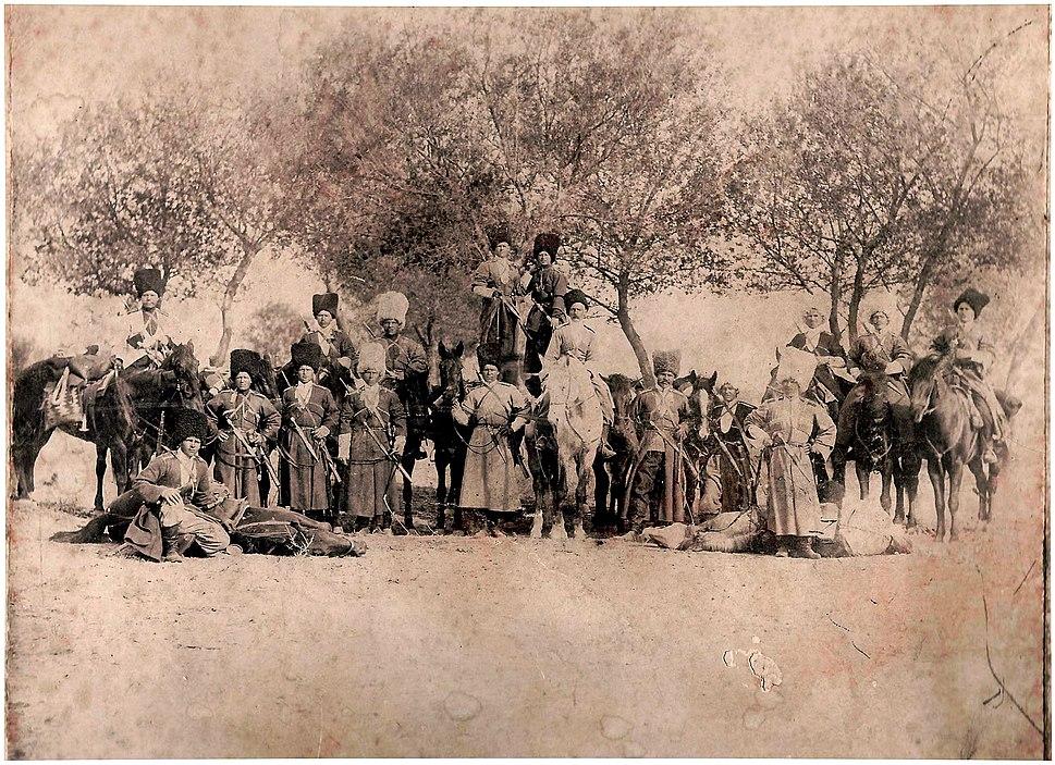 Kazaki Zacaspiyskoy brigady