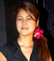 Keerti Gaekwad Kelkar at Actress Akangsha Ranwat's birthday bash.jpg