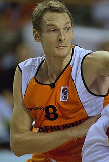 Kees Akerboom Jr. Dutch basketball player