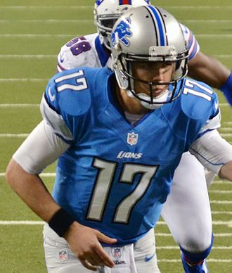 Kellen Moore - Moore with the Detroit Lions in 2012