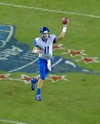 2010 Boise State Broncos football team - Kellen Moore was named WAC Offensive Player of the Week and Davey O'Brien Award Quarterback of the Week.