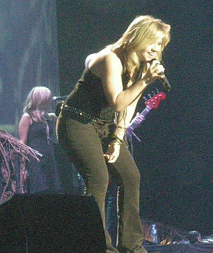"Since U Been Gone - Clarkson performing ""Since U Been Gone"" during her My December Tour."