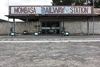 Railway stations in Kenya - Image: Kenyan Railways (5639333638)