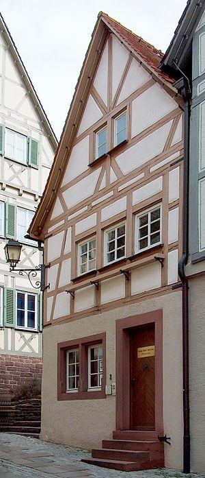 Johannes Kepler - Kepler's birthplace, in Weil der Stadt