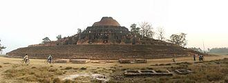 Kesaria stupa - Panorama of the stupa.