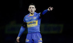 Kevin Sinfield - Sinfield playing for Leeds in 2010