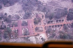Lai Khê - Khe Lai from the air in 1965