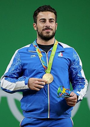Kianoush Rostami - Kianoush Rostami with gold medal at the 2016 Summer Olympics