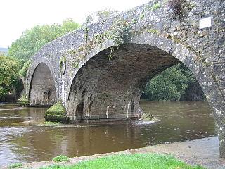 Kilsheelan Village in Munster, Ireland