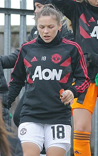 Kirsty Hanson association football player