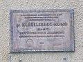Klebelsberg Kunó emléktábla (2005), 2018 Pestújhely.jpg