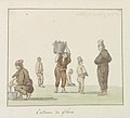 Klederdrachten van eiland Gozo Costume de Ghozo (titel op object) Voyage en Italie, en Sicile et à Malte - 1778 (serietitel), RP-T-00-494-18A.jpg