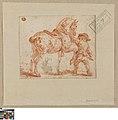 Knaap houdt een paard in bedwang, circa 1712 - circa 1799, Groeningemuseum, 0040249000.jpg