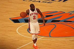 Raymond Felton - Image: Knicks Thunder 122210