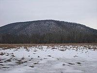 Knob Mountain (Pennsylvania) from the west.JPG