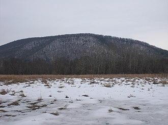 Knob Mountain (Pennsylvania) - Knob Mountain from the west
