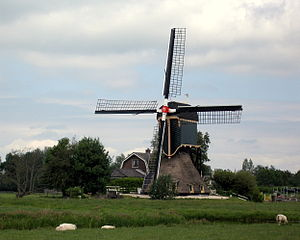 Kockengen - Windmill in Kockengen (built 1675)