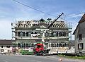 Koestlach, Mairie-école, à la reconstruction.jpg
