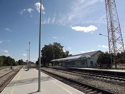 Kuidas ühistranspordiga sihtpunkti Kohila raudteejaam jõuda - kohast