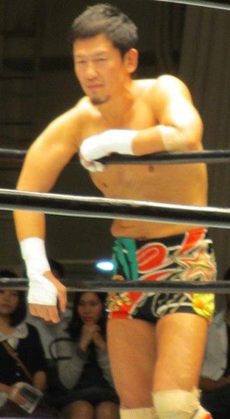 Koji Kanemoto - Kanemoto in September 2014