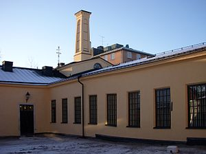 Samuel Owen - Some of Samuel Owen's original workshop buildings in Stockholm, built 1809. Photo: 2009.