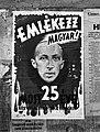 Korvin-Klein Ottóék terrorja, Szennik György plakát, 1944 Budapest Fortepan 72671.jpg