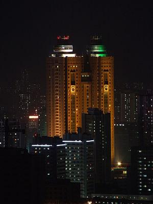 Koryo Hotel - Koryo Hotel at night