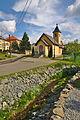 Koryto potoka Valchovka a kaple svatého Petra a Pavla, Valchov, okres Blansko.jpg