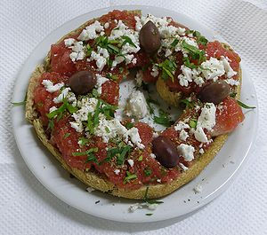 Greek Food called Koukouvagia (