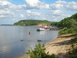 Volgotanker - An oil terminal in Kstovo on the Middle Volga, one of many served by Volgotanker