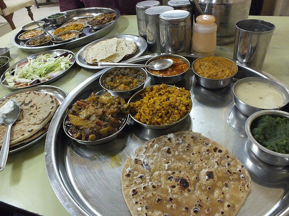 Kutchi thali
