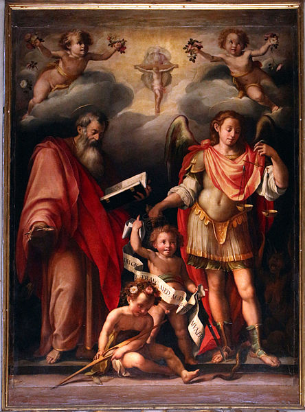 File:L'empoli, San Giovanni Evangelista e l'arcangelo Gabriele 02.JPG