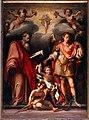 L'empoli, San Giovanni Evangelista e l'arcangelo Gabriele 02.JPG